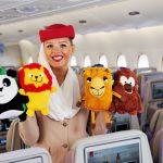 Bốn thiên thần nhỏ Emirates Airline dễ thương của các bé