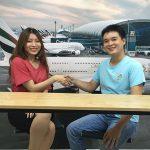 Cảm nhận bạn Võ Anh Thư trúng tuyển tiếp viên hàng không hãng EVA Airways
