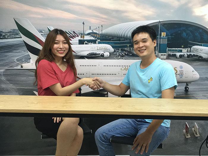 trúng tuyển tiếp viên hàng không hãng EVA Airways