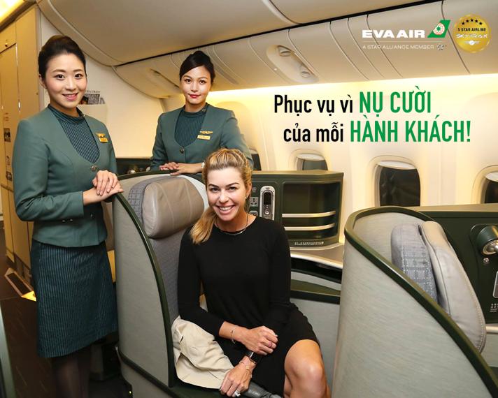 thi tuyển tiếp viên hàng không EVA