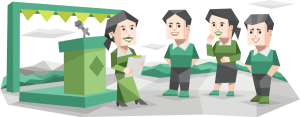 Think & Talk – Phương pháp trả lời phỏng vấn tiếp viên hàng không