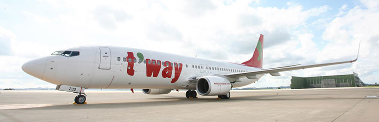 hãng hàng không T'way Air