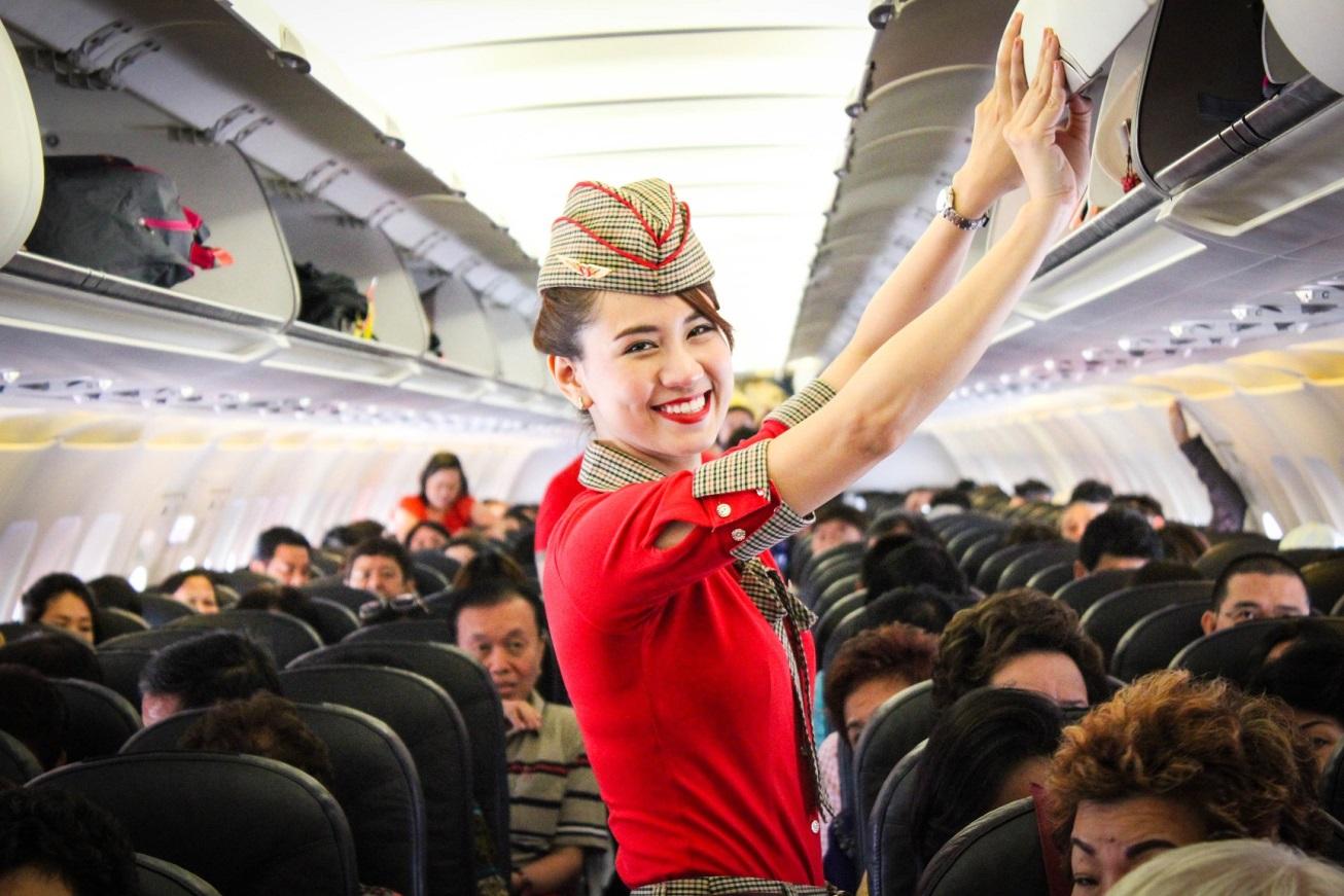 phỏng vấn tiếp viên hàng không