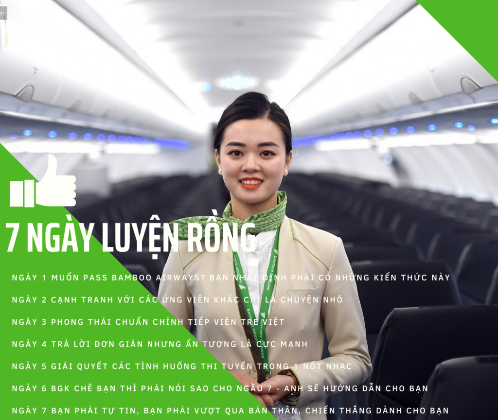 Lịch thi tuyển Bamboo Airways